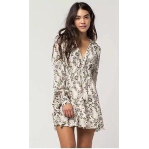 Free People Stealing Fire Peasant Dress - Ivory